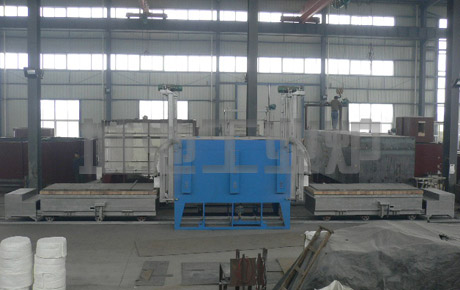 Note and maintenance of trolley resistance furnace
