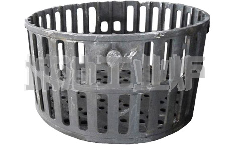 Loading basket grate for carburizing furnace