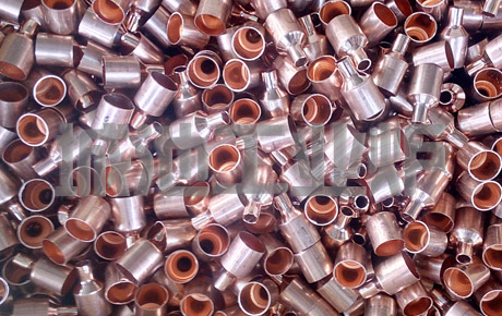 Heat treatment solutions for copper pipe and valve parts of refrigeration accessories