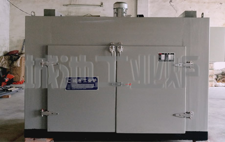 Heavy duty hot air circulation oven